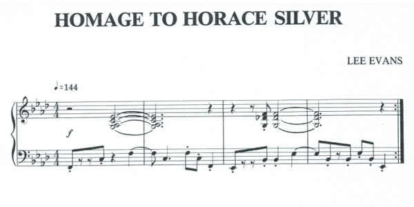 Focus Session: Horace Silver