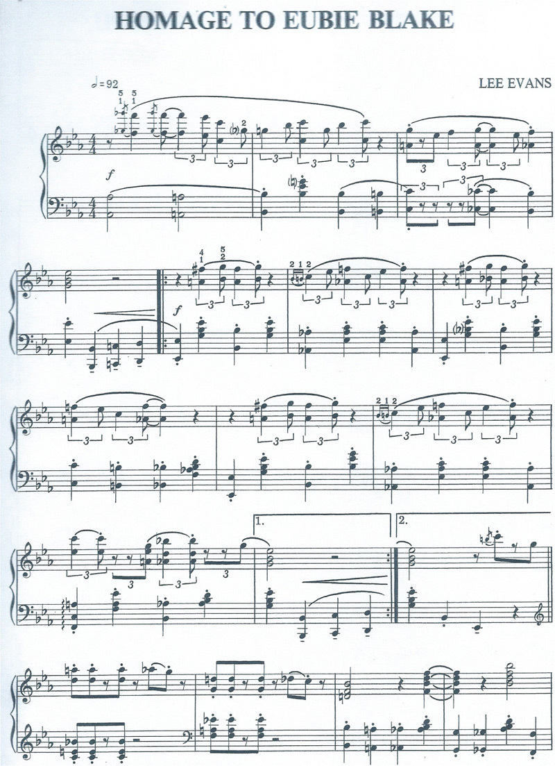 difference between ragtime and stride piano